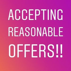 Make me an offer.💕